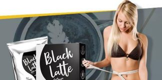 Black charcoal latte – Amazon – prodejna – složení