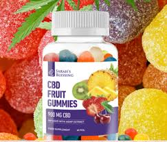 Sarah's Blessing Cbd Fruit Gummies - dr max - cena - forum